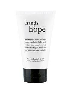 Just one application of the thick balm leaves hands feeling instantly softer (thank you, hydrolyzed hyaluronic acid) and cuticles and nail beds looking more polished. $10