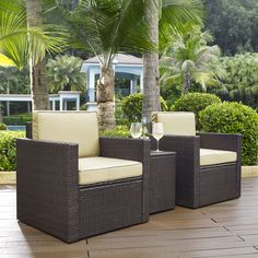 Brayden Studio® Crosson 3 Piece Deep Seating Group