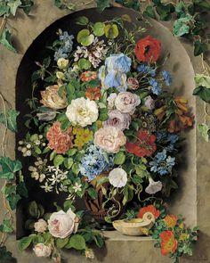 Pauline von Koudelka-Schmerling  Large Flower Piece