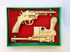 Vintage USSR Souvenir Set Revolution Weapon 1970's by USSRvintageToys on Etsy