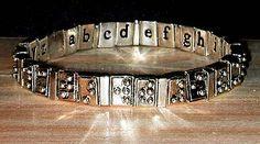 Braille Alphabet Bracelet - Silver