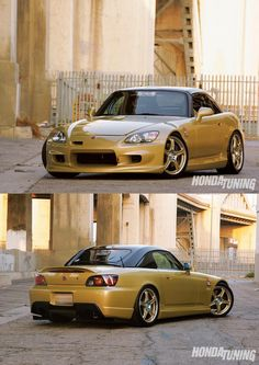 Honda tuning... Honda 2000, Honda S, Honda Civic, Classic Japanese Cars, Classic Cars, Japan Cars, Car Wheels, Modified Cars, Jdm Cars