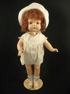 1930's Effanbee Compositon Patsy Joan Doll - All Original