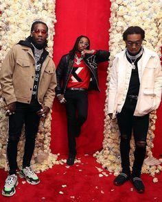 The 10 Best Dressed Men in Hip-Hop : Honcho Lifestyle Migos Wallpaper, Iphone Wallpaper, Migos Rapper, Best Dressed Man, Gucci Mane, Autumn Fashion 2018, Lil Pump, Hip Hop Rap, Lil Wayne