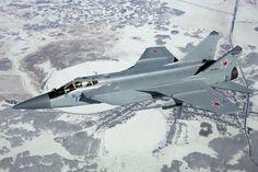 A Russian Air Force MiG-31. (Dmitriy Pichugin)