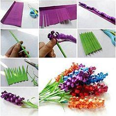 Kerajinan Bunga Dari Kertas- tangkapan layar