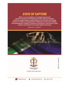 I'm reading State of Capture 14 October 2016 on Scribd