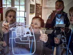 """Visite ludique de l'exposition """"Clermont 1416 : l'enquête continue"""" au château de Clermont pendant les Journées européennes du patrimoine #hautesavoiExperience"""