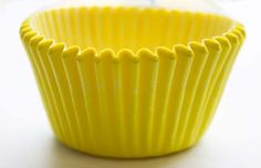 Cupcake Cases Yellow Medium 1000pcs