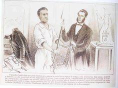 Patriotismo do senhor de escravos. Semana Ilustrada, 11 de novembro de 1866 - Guerra do Paraguai