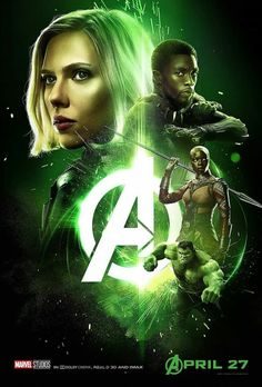 """[ Black Widow ] Infinity War poster 