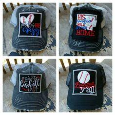 Crazy baseball mom cap