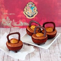 "Double Double Chocolate Cauldron Cakes | 40 ""Harry Potter""-Inspired Treats You Should Be Making"