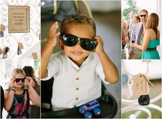 Nashville Garden Wedding Venue   Summer Sunglasses Favors - Photo: Brandon Chesbro