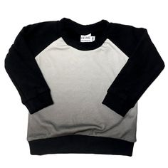 Bamboo Fleece sweater - Grey Ombré