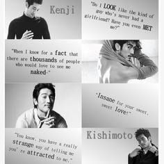 Kenji Kishimoto  from Shatter Me