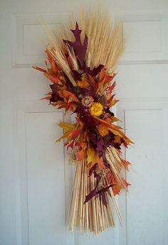 Seasonal arrangements_fall wheat sheaf