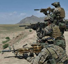 French special forces - CPA 10