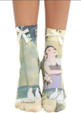 Womens Disney Princess Snow White Anklet Socks New With Tags!