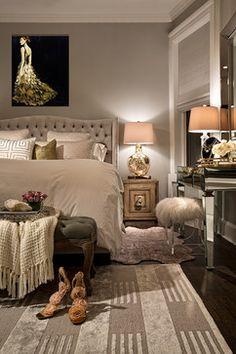Glamour bedroom on pinterest bedrooms hollywood glamour for Z gallerie bedroom inspiration