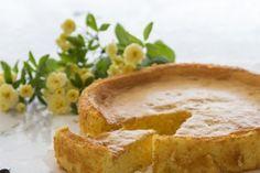 Cheesecake japonés o pastel de algodón
