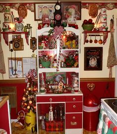 christmas themed homes - Google Search