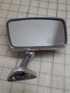 Exterior Mirror Right Hand made in West Germany Vintage Auto RH Vintage Auto, Vintage Cars, Old Car Parts, Old Cars, Germany, Exterior, Mirror, Handmade, Ebay