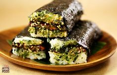 Hula Girl Truck's Spam Musubi -- Rice, soy sauce, roasted nori, all lovingly wrapped around a piece of fried SPAM
