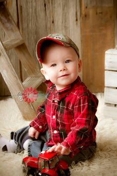 I want to be a farmer..like Daddy.
