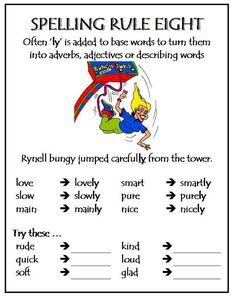 Spelling Rule 8