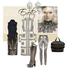 """Urban Exotic"" by melissabrunet on Polyvore"