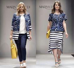 Curvy Fashion, Womens Fashion, Dressing, Capri Pants, Stripes, Plus Size, Costumes, Stylish, Skirts
