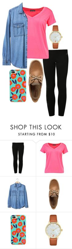 """""""¿Bueno?"""" by ava-navarrrroo ❤ liked on Polyvore featuring NIKE, Boohoo, Gap, Sperry and Kate Spade"""