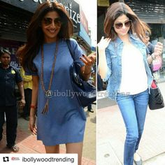 #Repost @ibollywoodtrending with @repostapp ・・・ Sisters Shilpa shetty and Shamita shetty snapped post brunch at Bastian. @ibolly