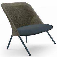 Jonas Forsman uses 3D knitting to create folding Shift Chair...
