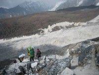Trail after Manaslu Larkya La Pass http://www.nepalmotherhousetreks.com/manslu-trekking-with-nar-phu-valley.html