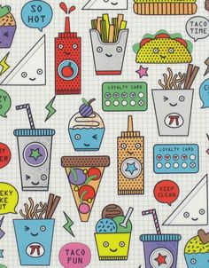 New Paperchase collection featured on the print & pattern Cute Pattern, Pattern Art, Pattern Design, Print Design, Pattern Illustration, Graphic Illustration, Paperchase, Textiles, Pretty Patterns