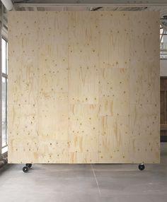 Plywood Wallpaper design by Piet Hein Eek for NLXL Wallpaper