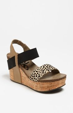 OTBT 'Bushnell' Wedge Sandal available at #Nordstrom.....ordered!