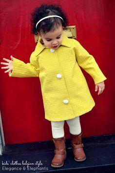 Elegance & Elephants: kids' clothing belgian style at Straightgrain