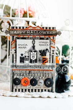 Вдохновение: Открытки к Хеллоуину.