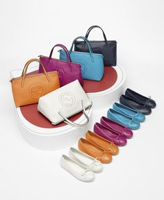 Gucci Kids' SS 2014 Collection: Leather Tote With Interlocking G Detail and Leather Ballet Flat