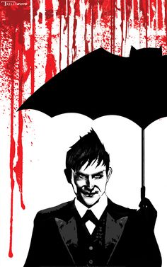 Penguin Gotham Needs Me by artist Tom Kelly on the web at TomKellyART.deviantart.com on @DeviantArt