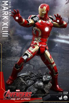 Hot Toys - QS005 - 復仇者聯盟2:奧創紀元 1/4比例 鋼鐵人馬克43 | 玩具人Toy People News