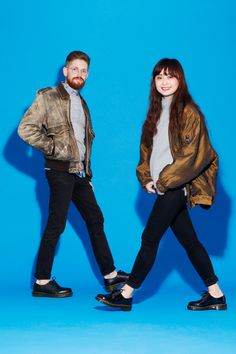 "Why This Korean Trend Won't Work In America #refinery29  http://www.refinery29.com/matching-outfits-for-couples#slide7  SundayConnie: Gap sweater, Uniqlo flannel, Madewell jeans, vintage jacket, Dr. Martens shoes ""Last day! Last day! Last day last day! A full, happy life of color and polka-dots lies ahead of me. Red shoes and printed pants and graphic tees are just a day away. For now, we had a trip to Storm King with our other couple friends, who were looking forward to relentlessly making…"