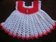 Easy Baby Sun Dress By Carol Garcia - Free Crochet Pattern - (ravelry)