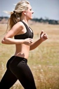 How to lose weight in your thighs - running for > 45 min at a time