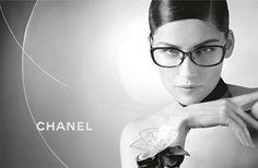 LAETITIA CASTA, FACE OF THE NEW EYEWEAR CAMPAIGN – Chanel   Style ... 2def8a98b533