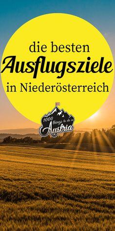 10 destinations in Lower Austria – wandern Austria, Hiking, Journey, Tours, Explore, World, Movie Posters, Travel, Beautiful
