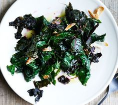 The ultimate summer side dish—it's quick to prepare, stars peak produce, and goes with everything, especially grilled meats and fish. Save the Swiss chard stems for the Runner Beans with Swiss Chard Stems and Basil (click for recipe). Swiss Chard, Garlic and Lemon
